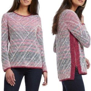 NWT Nic+Zoe Boulder Multicolored Knit Sweater | SM